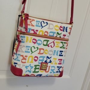 Dooney & Bourke Doodle Collection crossbody